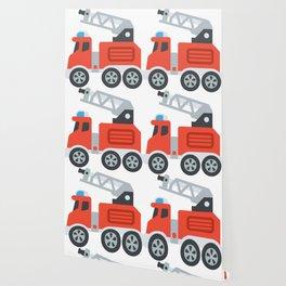Firetruck Emoji Wallpaper