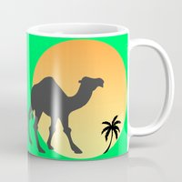 camel Mugs featuring Camel by Geni