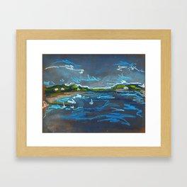 Intracoastal Waterway Framed Art Print
