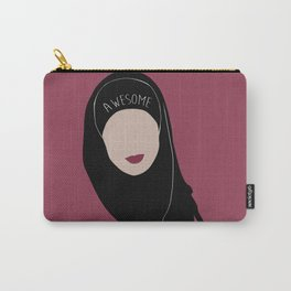 Sana Bakkoush - AWESOME Carry-All Pouch