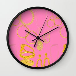 Hold My chain Wall Clock