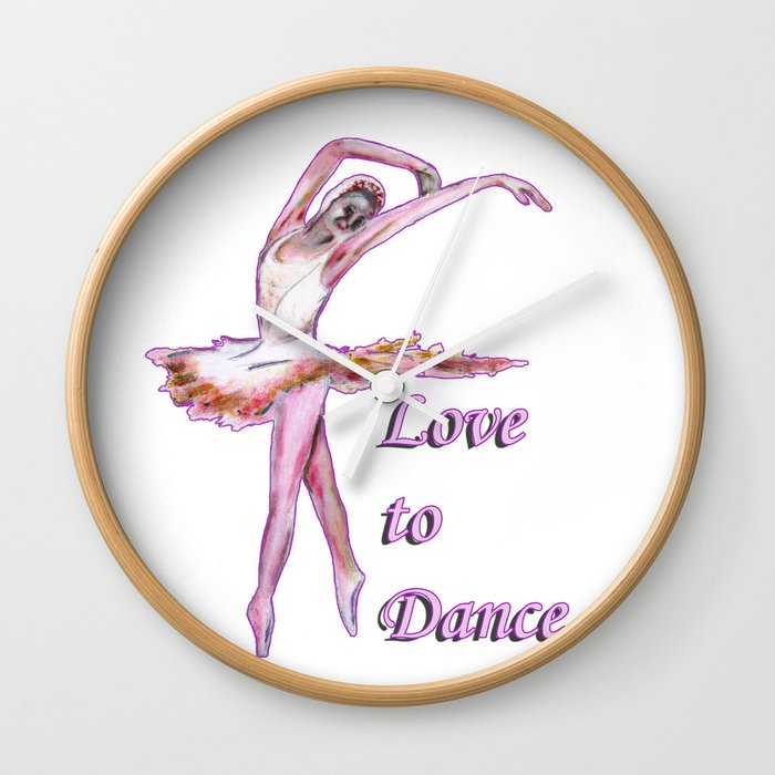 Love to Dance  Wall Clock