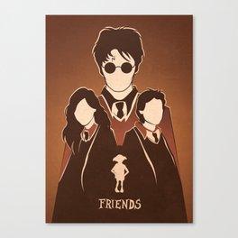 Harry Potter Tribute.  Canvas Print