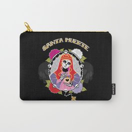 Santa Muerte Carry-All Pouch