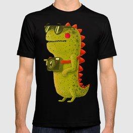 Dino touristo (olive) T-shirt