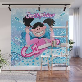 Josephine Winter Poster Wall Mural