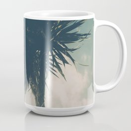 Sun blasted Palm trees Coffee Mug