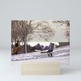 Sureal Winter Dream Mini Art Print