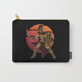 Spartan Warrior | Sparta Greek Fighter Sword Power Carry-All Pouch