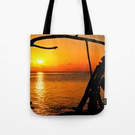 Sunrise The Maldives Tote Bag