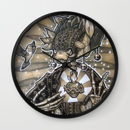 Madre Naturaleza Wall Clock