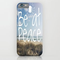Be at peace iPhone 6s Slim Case