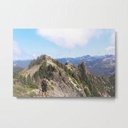 Tolmie Peak Metal Print