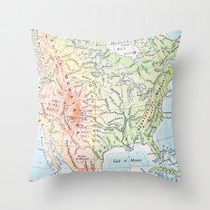 sweet land of liberty Throw Pillow