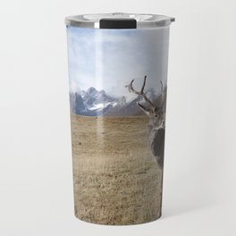 Caribou On The Tundra Travel Mug