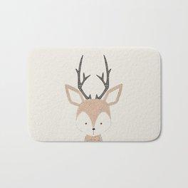 Baby Deer Woodland Animals Cute Fawn Bath Mat