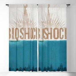 Bioshock Poster Blackout Curtain