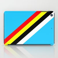 rave iPad Cases featuring Rave by Naked N Pieces