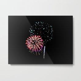 Fireworks 17 Metal Print