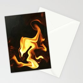 Flame Bird Stationery Cards