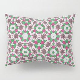 Pink & Green Pattern Pillow Sham
