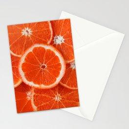 Orange Fruit Slices Stationery Cards