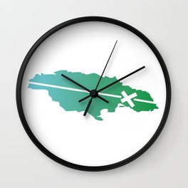 A Kingston Mi Come From Wall Clock