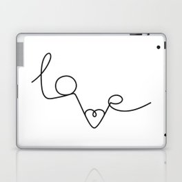 Woman & LoveMe Laptop & iPad Skin