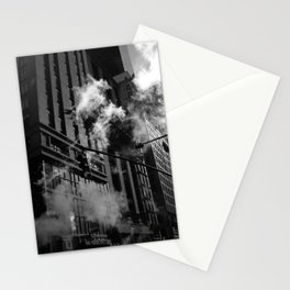 black and white nyc Stationery Cards