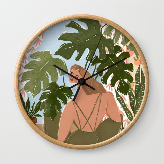 Bringing the outside in Wall Clock