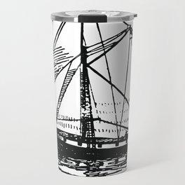 Vintage Boat Travel Mug