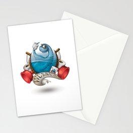 WCsaur Stationery Cards