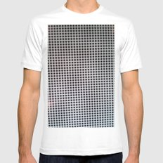 HOLES White Mens Fitted Tee MEDIUM