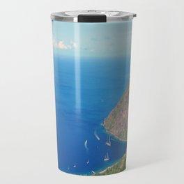 Petit Piton, Pitons Bay, Soufrière Quarter, Saint Lucia Travel Mug