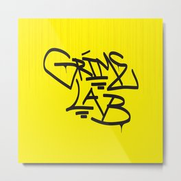 Grime Lab Drips Metal Print