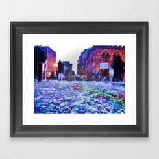 Carnavale Framed Art Print