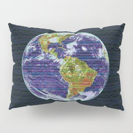 Stripey Earth Pillow Sham