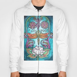 Enlightened Dragonfly Hoody