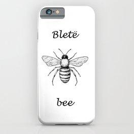 Blete/ Albanian Honeybee iPhone Case