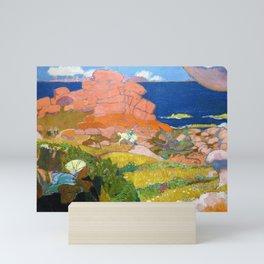 12,000pixel-500dpi - Maurice Denis  - Saint George With Red Rocks - Digital Remastered Edition Mini Art Print