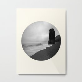 Pillar At Sea Metal Print