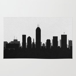 City Skylines: Indianapolis Rug
