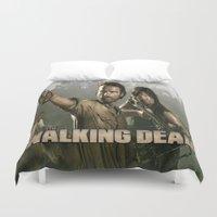 walking dead Duvet Covers featuring Walking Dead by store2u