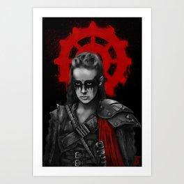 The 100 - Commander Lexa Art Print