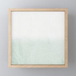FADING GREEN EUCALYPTUS Framed Mini Art Print