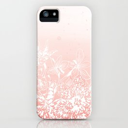 Watercolor Orchids iPhone Case