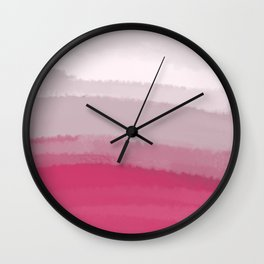 Sea - Line Clolor Pattern V18 Wall Clock
