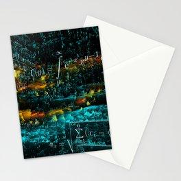 mathematical art Stationery Cards