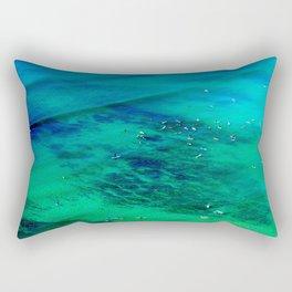 Waikiki Waiting Rectangular Pillow