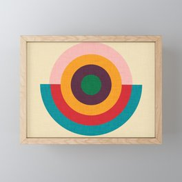 Solaris #homedecor #midcenturydecor Framed Mini Art Print